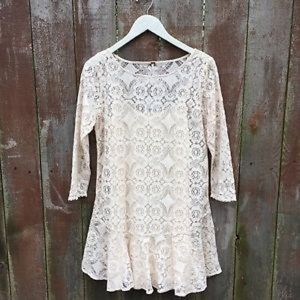 Free People Lace Tunic
